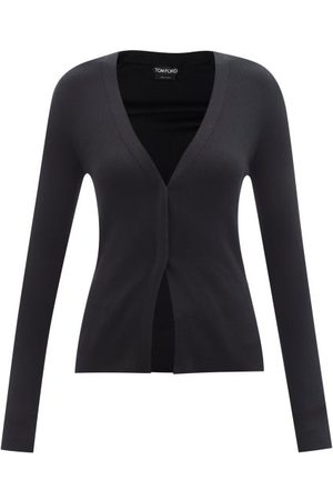 Tom Ford Rib-knitted Cashmere-blend Cardigan