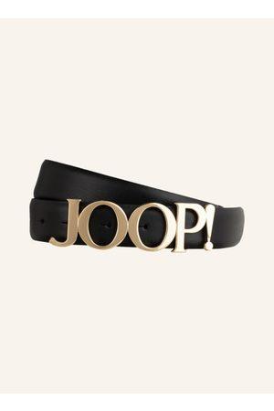 JOOP! Aus fein genarbtem Leder. Goldfarbene Logoschließe. - Breite: 3 cm