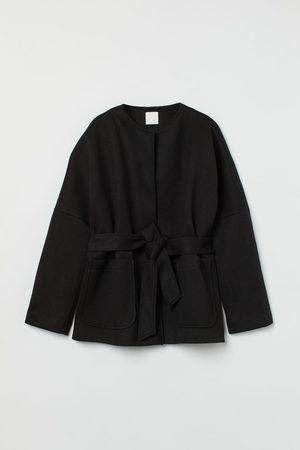 H&M Jacke mit Bindegürtel