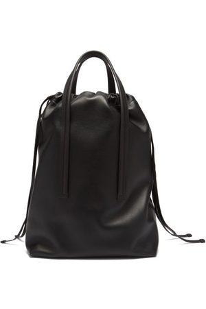 Bonastre Drawstring Leather Tote Bag
