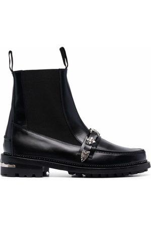 TOGA VIRILIS Chelsea-Boots mit Schnalle