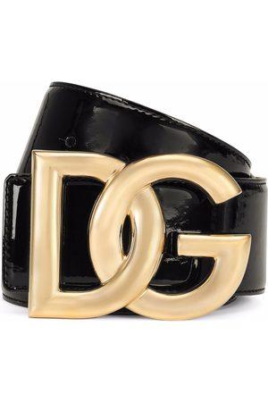Dolce & Gabbana Gürtel aus Lackleder