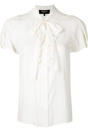 Paule Ka Damen Blusen - Hemd mit Rüschen