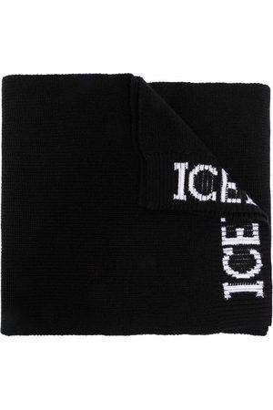 Iceberg Herren Schals - Schal mit Logo-Print