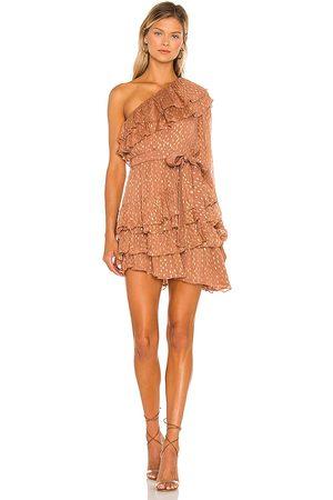 ROCOCO SAND Damen Asymmetrische Kleider - Aine One Shoulder Dress in . Size XS, S, M.