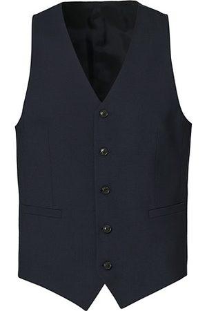 Tiger of Sweden Herren Westen - Litt Wool Waistcoat Blue