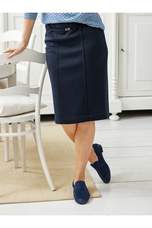 Avena Damen Freizeitkleider - Damen Jersey-Hausrock