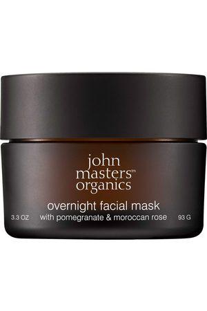 john masters organics Maske 'Overnight Facial Mask with Pomegranate & Moroccan Rose