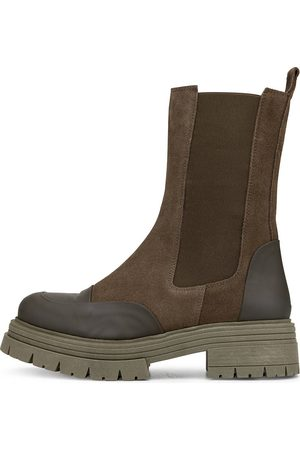 KMB Chelsea Boot Drisban in khaki, Boots für Damen