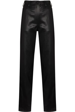 LVIR Taillenhose aus Faux-Leder