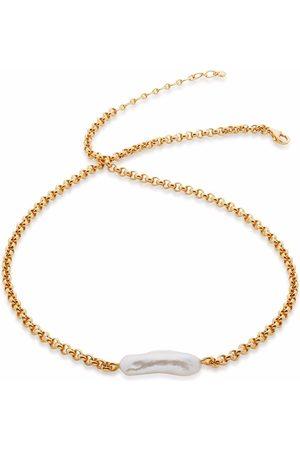 Monica Vinader Damen Halsketten - Nura Biwa Halskette