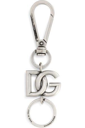 Dolce & Gabbana Schlüsselanhänger mit Logo-Schild