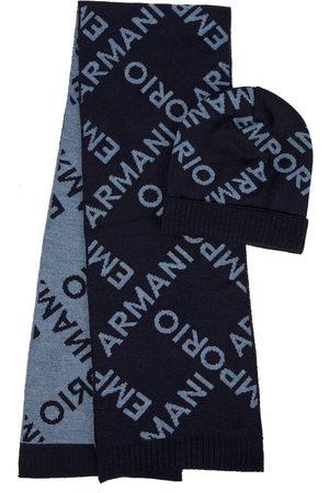 Emporio Armani Set aus Mütze und Schal