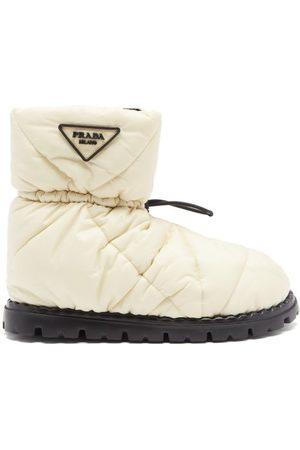 Prada Padded Nylon Snow Boots