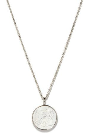 Tom Wood Athena Cameo Sterling-silver Pendant Necklace
