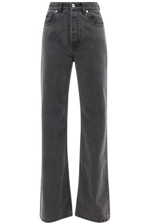 Paco Rabanne High-rise Washed Flared-leg Jeans
