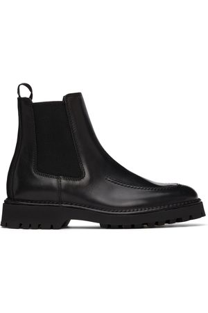 Kenzo Black K-Mount Chelsea Boots