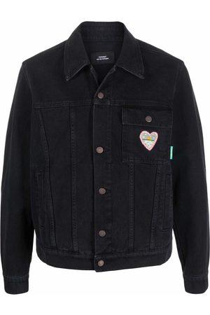 PACCBET Jeansjacke mit Herzstickerei