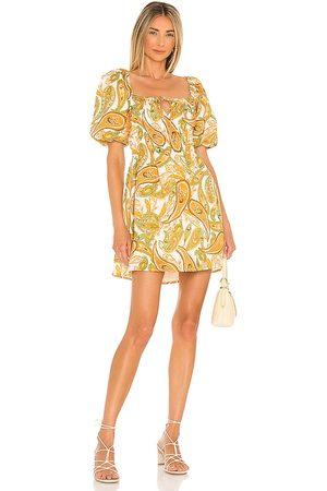 FAITHFULL THE BRAND Nikoleta Mini Dress in . Size M, S, XL, XS.