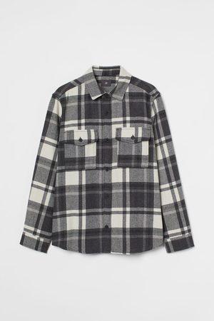 H&M Hemdjacke aus Twill