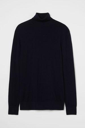 H&M Herren Rollkragenpullover - Pullover aus Merinowolle