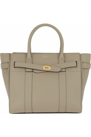 Mulberry Tote Bay Small Zipped Classic Grain gold