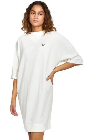 Fred Perry Damen Kleider - V-Insert Pique Dress