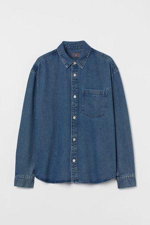 H & M Hemdjacke aus Denim