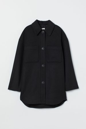 H & M Oversized Hemdjacke