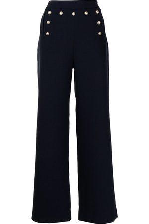 Ports V Taillenhose mit weitem Bein
