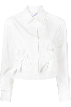 Ports V Hemd mit Schleifendetail