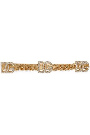Dolce & Gabbana Damen Haarschmuck - Haarspange mit Strass-Logo