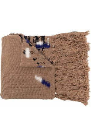 Les Hommes Strukturierter Schal