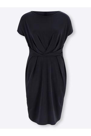 Ashley Brooke Damen Freizeitkleider - Jersey-Kleid in marine von