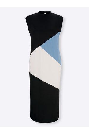 Rick Cardona Jersey-Kleid in -himmelblau-gemustert von