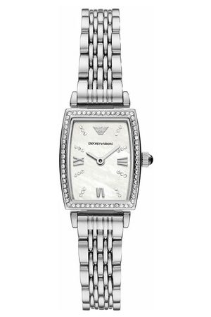 Emporio Armani Uhr Women's Two-Hand Stainless Steel Watch AR11405 silber