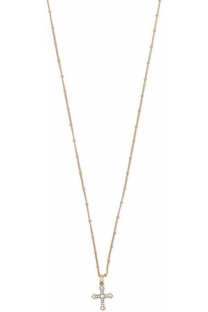 Dolce & Gabbana Herren Halsketten - Halskette mit Kreuzanhänger