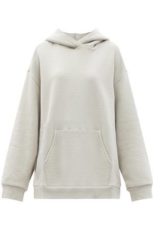 Raey Oversized Cotton-jersey Hooded Sweatshirt