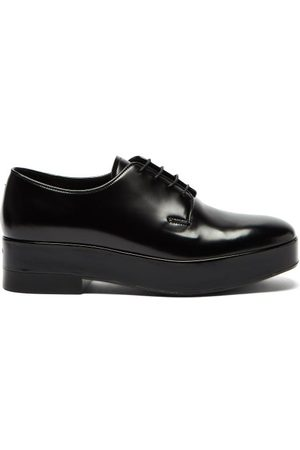 Prada Chunky-sole Leather Derby Shoes