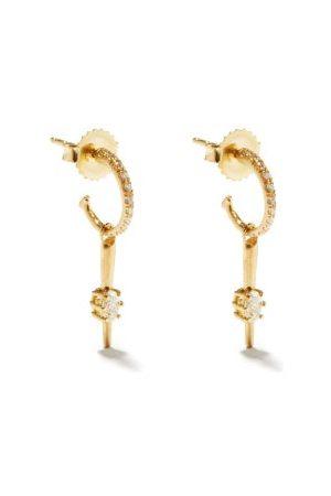 Jade Trau Rae Diamond & 18kt Earrings
