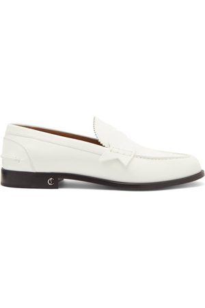 Christian Louboutin No Penny Leather Loafers