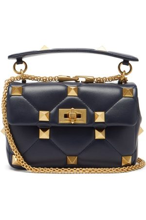 Valentino Garavani Roman Stud Medium Quilted-leather Shoulder Bag