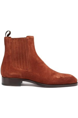 Christian Louboutin Angloman Leather Chelsea Boots