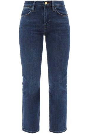 FRAME Le High High-rise Straight-leg Jeans