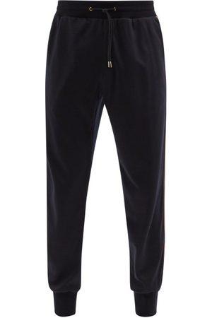 Paul Smith Side-stripe Wool-jersey Track Pants