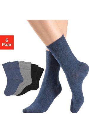Rogo Socken in jeans von