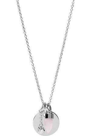 Fossil Halsketten - Kette mit Anhänger in silberfarben- von