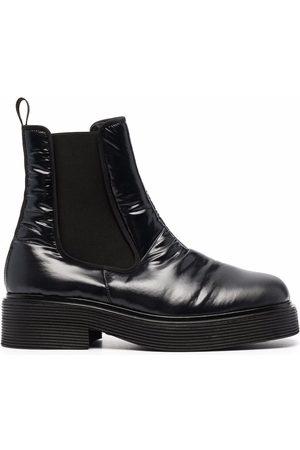 Marni Chelsea-Boots mit eckiger Kappe