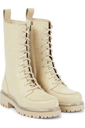 RENÉ CAOVILLA Ankle Boots aus Leder