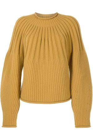 PROENZA SCHOULER WHITE LABEL Gerippter Pullover mit Raglanärmeln